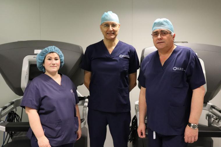 HLA Universitario Moncloa, a la cabeza de los procedimientos robóticos en Urología