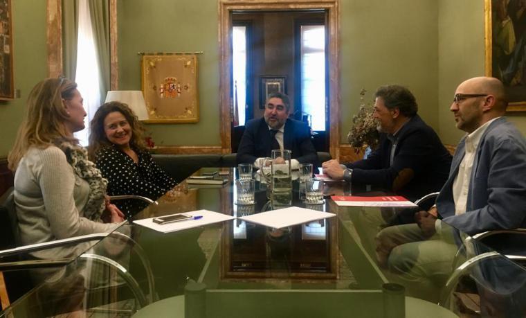 Bascuñana se reúne con el Delegado del Gobierno para informarle sobre la situación de la seguridad en Pozuelo
