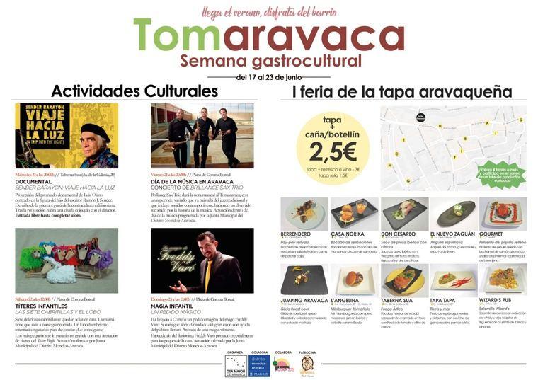 Jornadas gastroculturales en Aravaca
