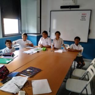 Unos 34 niños reciben clases de Apoyo escolar en Cáritas Arciprestal* Aravaca-Pozuelo
