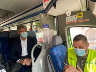 La Comunidad de Madrid pone en marcha la primera línea interurbana de autobús a demanda