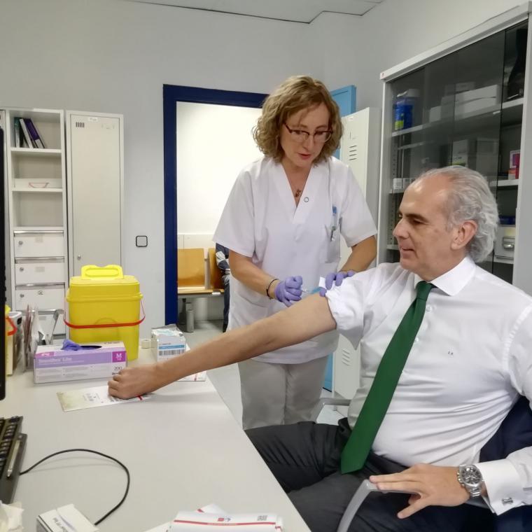 La Comunidad comienza la campaña para vacunar frente a la gripe a más de un millón de madrileños