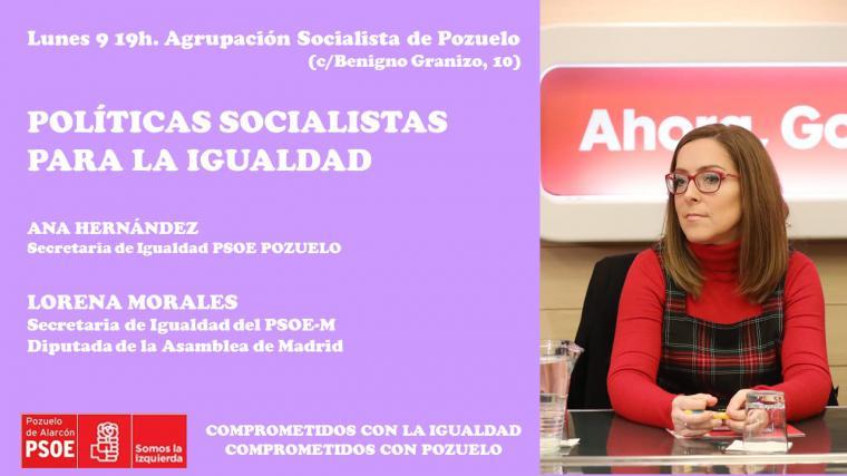 El PSOE de Pozuelo anima a participar en las reivindicaciones del 8M