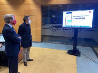 La Comunidad de Madrid incluye en la app de Metro información sobre el grado de ocupación de sus trenes