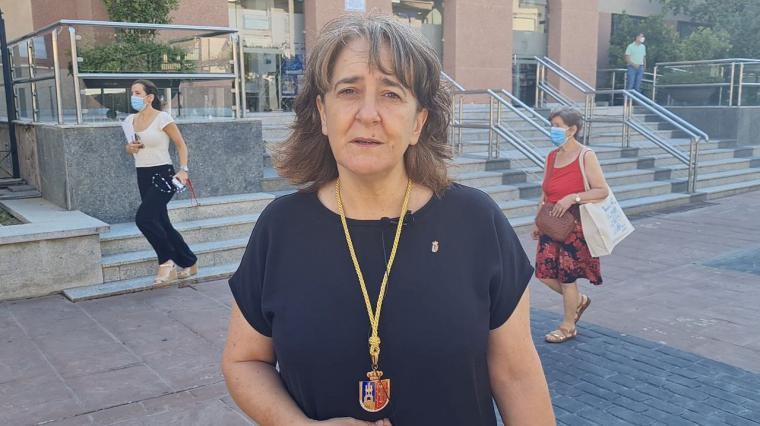 La nueva concejala de Somos Pozuelo, Patricia Cabal, fija como prioridad la lucha contra la violencia machista en el día en que otra mujer ha sido asesinada en Pozuelo.