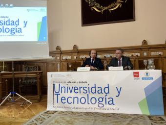 La Comunidad de Madrid pide a las universidades que se adapten a los retos de la tecnología, la robótica y la Inteligencia Artificial