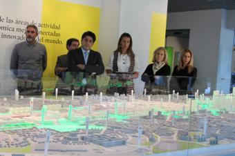 Pérez visita el proyecto de Madrid Nuevo Norte, que ayudará a abaratar el precio de la vivienda en la región