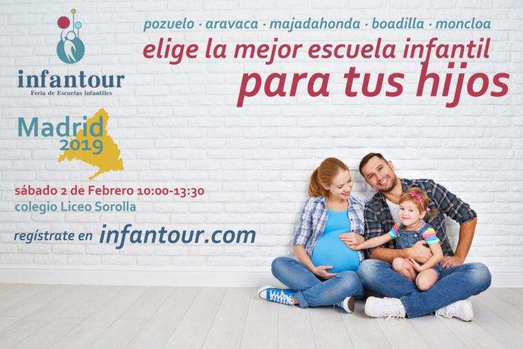 ¿Estás buscando la Escuela Infantil que mejor se adapte a tu bebé? Conoce la oferta de las Escuelas Infantiles de la zona Noroeste de Madrid