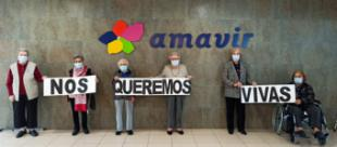 Las residencias Amavir apoyan el Día Internacional de la Eliminación de la Violencia contra la Mujer