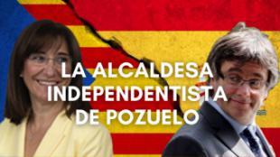La alcaldesa de Pozuelo copia la estrategia de Puigdemont para justificar su pésima gestión de las ayudas al IBI