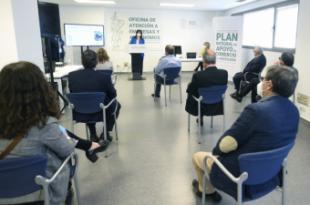 El Ayuntamiento abre las puertas de la nueva Oficina de Atención a las Empresas y Autónomos afectadas por la crisis del Covid-19