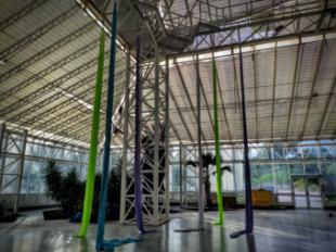 El Invernadero, el nuevo espacio de 1300m2 dedicado al circo contemporáneo, se presentará el 16 de septiembre en Alcobendas