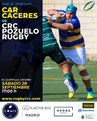 Previa CAR Cáceres VS Crc Pozuelo Rugby (jornada 3 dhb)