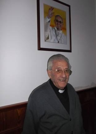 Con Don Pedro y la Hermandad de San Sebastián
