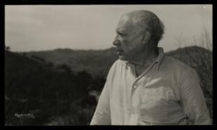 Exposición a las fotografías de Gyenes sobre Picasso