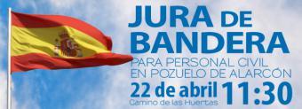 Jura de Bandera para personal civil en Pozuelo