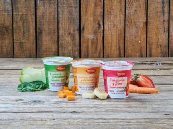 Lidl lanza los primeros yogures de verduras del mercado, bajo su marca propia de lácteos Milbona