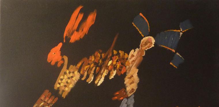 Exposición 'Nueve parejas y una liebre' en Pozuelo de Alarcón