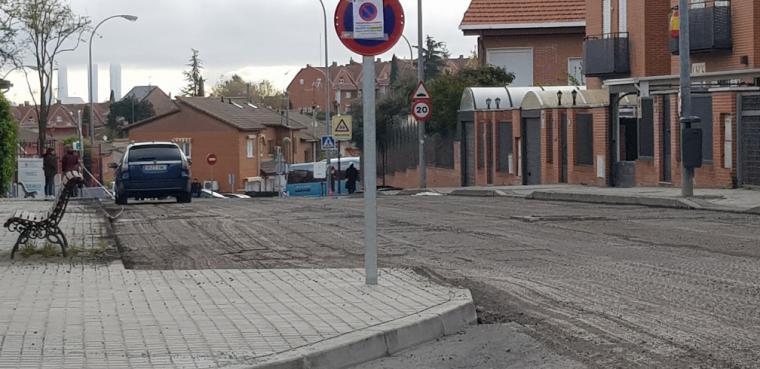 Bascuñana pide el aplazamiento de la campaña de asfaltado y trasladarla al verano como todos los años