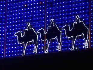 Cabalgata de Reyes Magos 2016 en Madrid