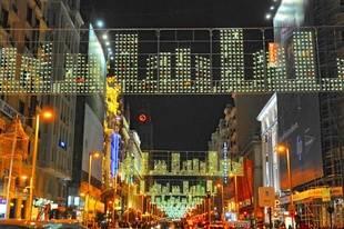 Falta poco para la iluminación de Navidad en Madrid