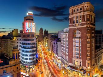 Madrid es la ciudad más buscada del mundo por los españoles para recibir el 2020