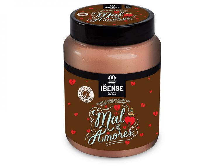 La Ibense Bornay presenta 'Mal de Amores', un helado para remediar los pesares del corazón