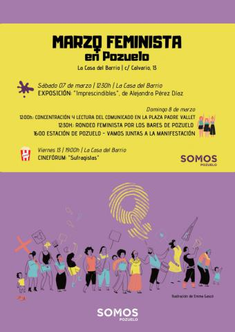 Somos Pozuelo convoca una concentración para reivindicar el Día Internacional de la Mujer
