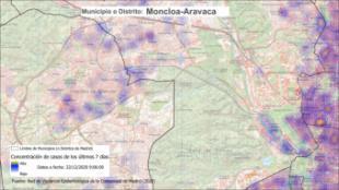 ZBS de Aravaca, entre las nuevas zonas con restricciones