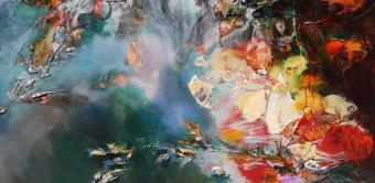 Exposición: Instante, de Marta Maldonado. Naturaleza, libros y música