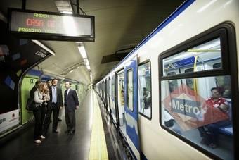 3,3 millones de euros para mantenimiento de los sistemas de seguridad en los trenes de Metro de Madrid
