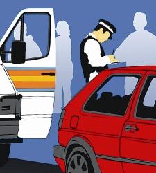 Las sanciones a los vehículos de hasta 9 plazas aumentaron un 793% desde enero