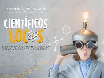Nassica dedica los talleres infantiles de enero a la ciencia
