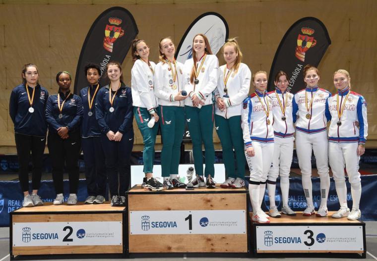 Hungría vence en la prueba por equipos de la Copa del Mundo de Segovia