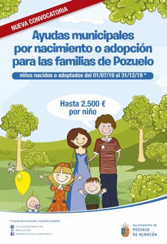 El Ayuntamiento de Pozuelo activa el plazo de solicitud para las ayudas por nacimiento o adopción de hasta 2.500 euros