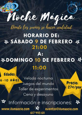 Noche mágica para padres y niños