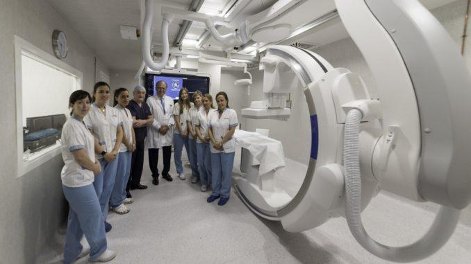 Nueva sala de electrofisiología del Hospital HLA Universitario Moncloa
