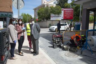 Recta final en las obras de rehabilitación y mejora del centro de Pozuelo de Alarcón