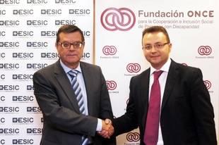 Fundación ONCE y ESIC suscriben un acuerdo para facilitar el acceso de las personas con discapacidad a la Educación y la Cultura