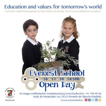 Jornada de puertas abiertas en Everest School