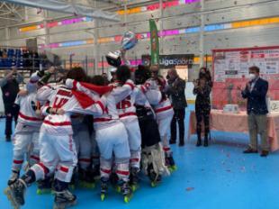 La Comunidad de Madrid apoya el hockey línea en la final de la Copa S.M. La Reina