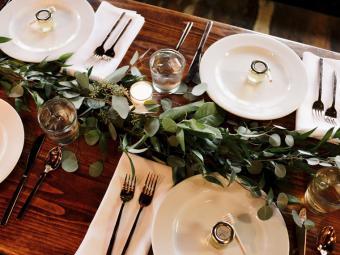 Mesas con estilo: tips para dejar a tus invitados con la boca abierta