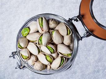 Cuidar la piel con 49 pistachos