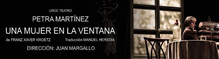 Petra Martínez se aleja de su papel de Doña Fina en 'Una mujer en la ventana'