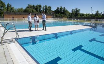 Hoy abre la piscina de verano del polideportivo municipal Carlos Ruiz de Pozuelo con medidas especiales