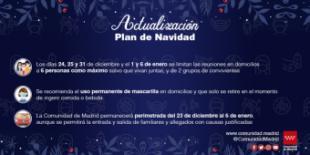 Así son las nuevas medidas de la Comunidad de Madrid para Navidad