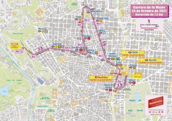 La Comunidad de Madrid pone en marcha un dispositivo especial de transporte para la XVII edición de la Carrera de la Mujer