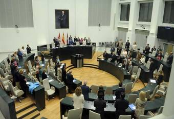 Pleno Municipal en el Ayuntamiento de Madrid