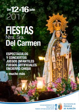 Dan comienzo las fiestas de Nuestra Señora del Carmen de Pozuelo Estación