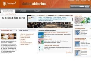 Primer aniversario del Portal de Datos Abiertos de Madrid